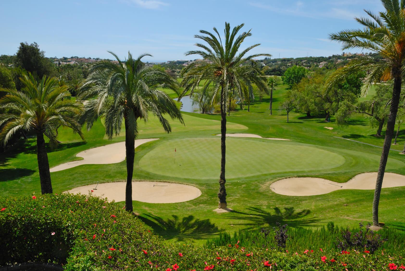 Pole golfowe - Marbella